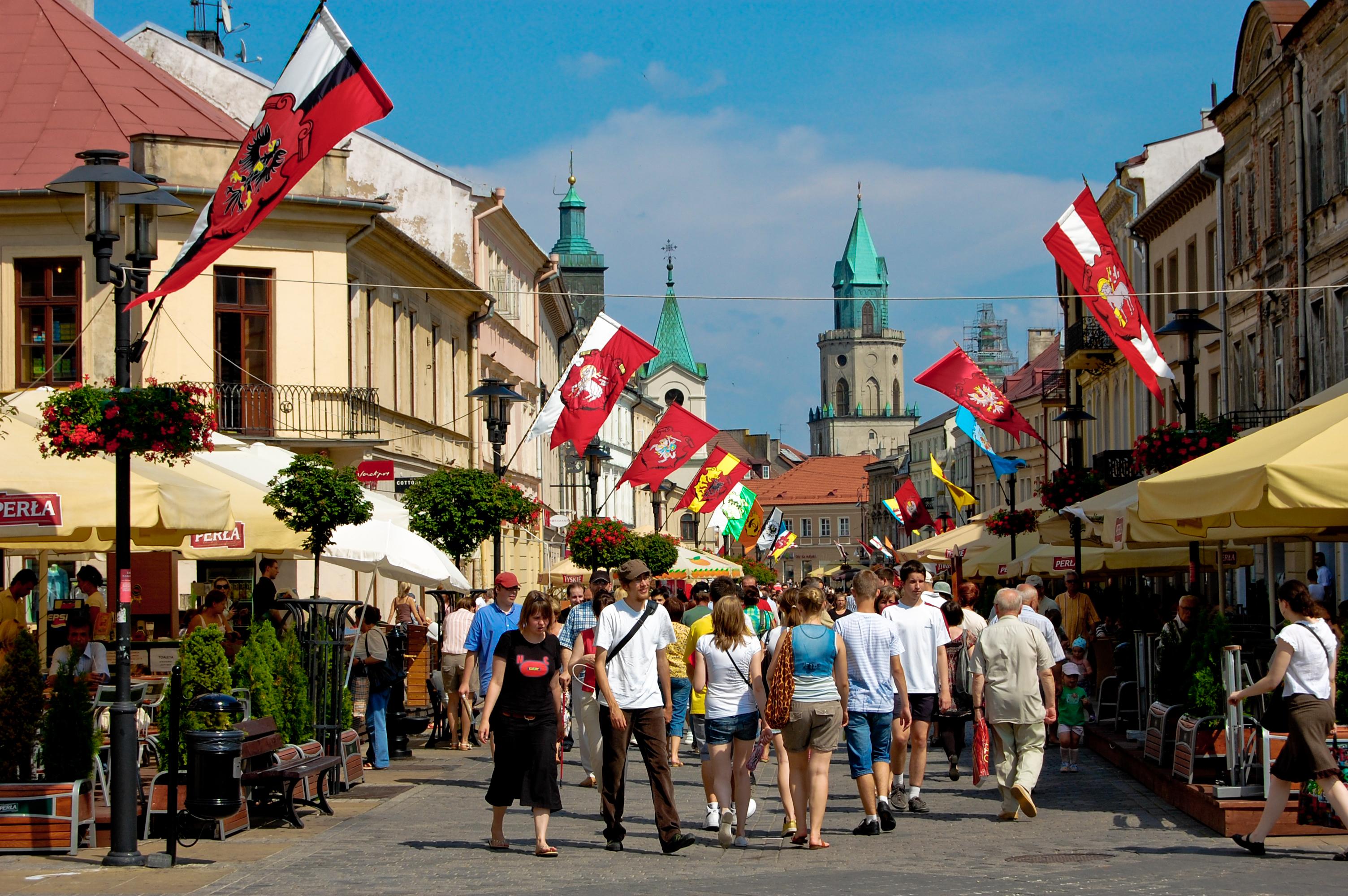Krakowskie Przedmieście w Lublinie, obchody 440-lecia Unii Lubelskiej.jpg