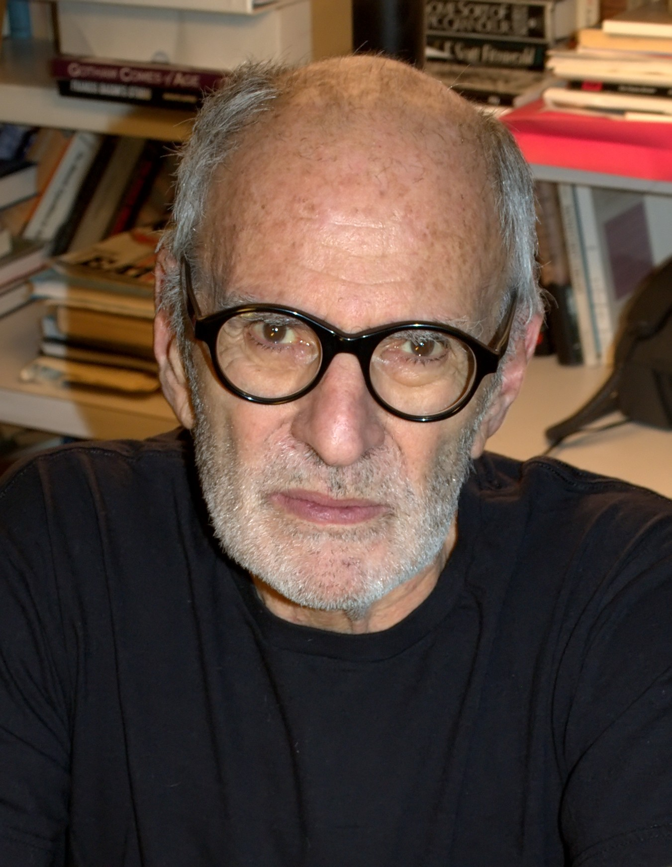 Larry Kramer in April 2010