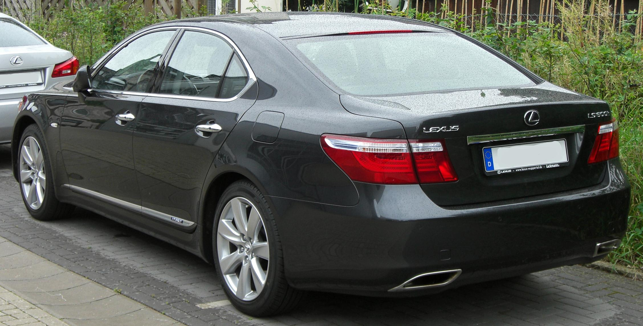 File:Lexus LS 600h rear.JPG - Wikimedia Commons