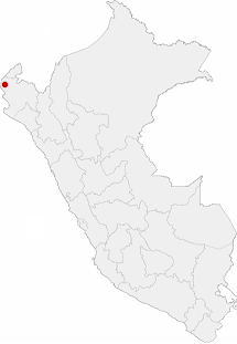 Location of the city of Talara in Peru.png
