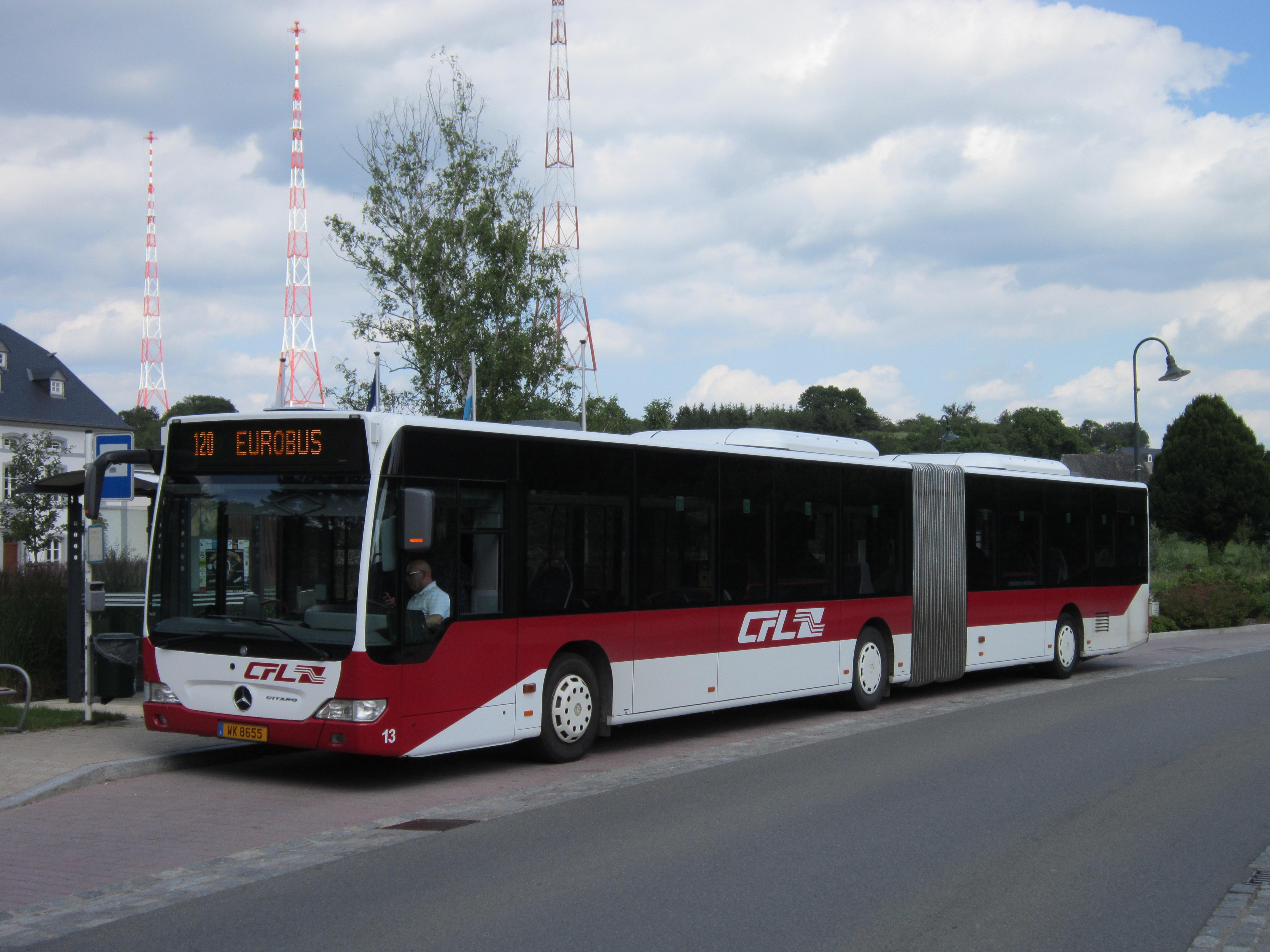File luxembourg cfl mercedes benz citaro g n 13 l120 for Mercedes benz luxembourg