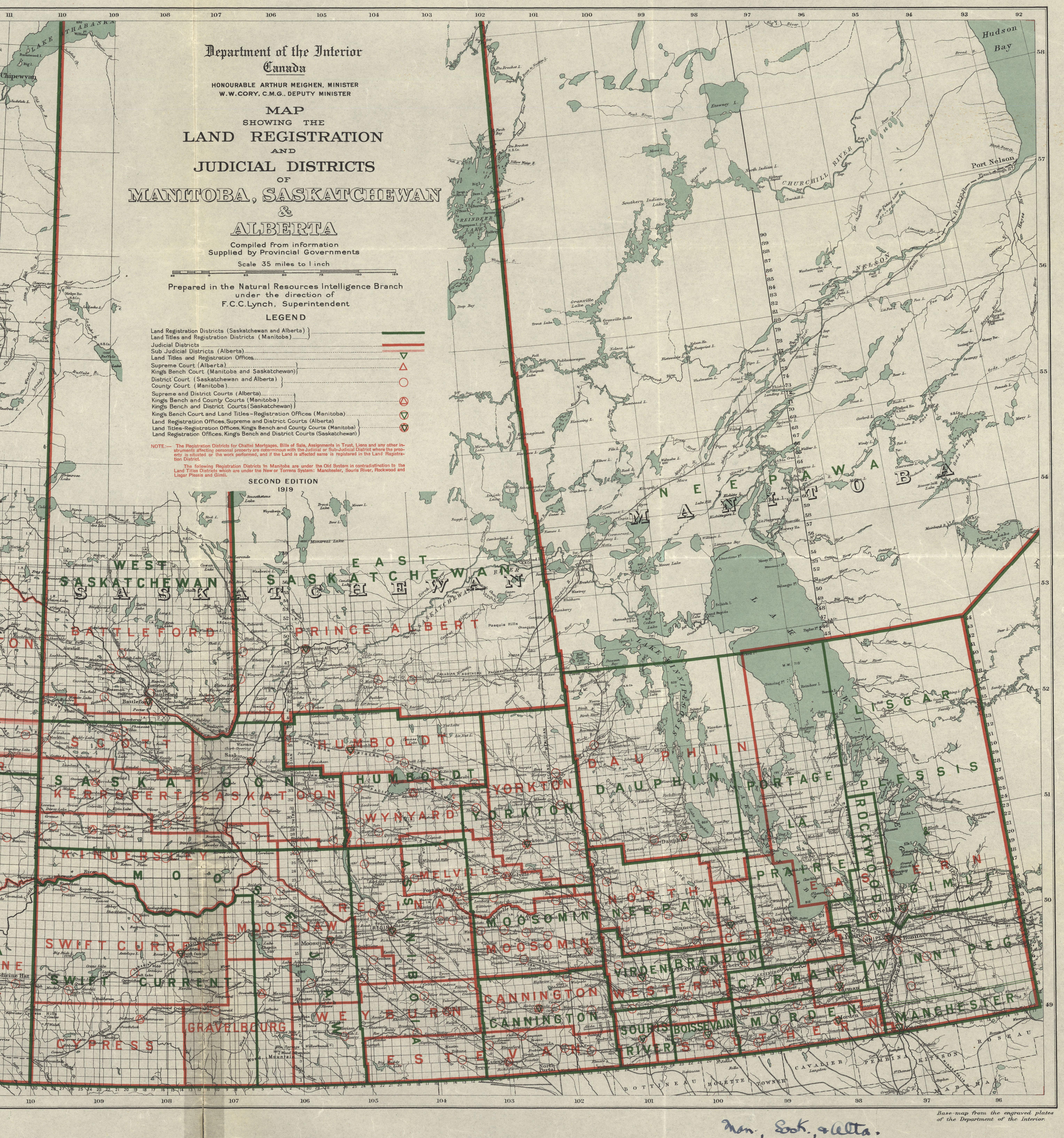 Saskatchewan Natural Resources Department