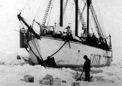 Med Maud over polarhavet stort