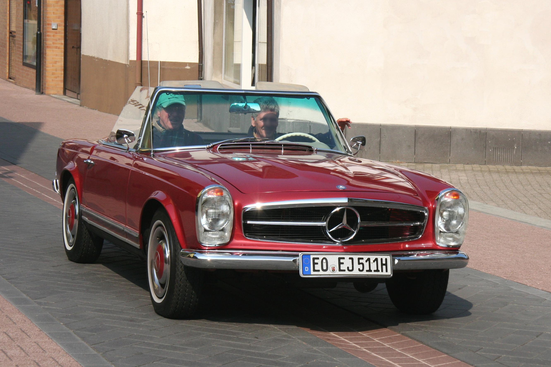 File Mercedes Benz 230 Sl Bj 1964 In Fahrt 2009 05 01