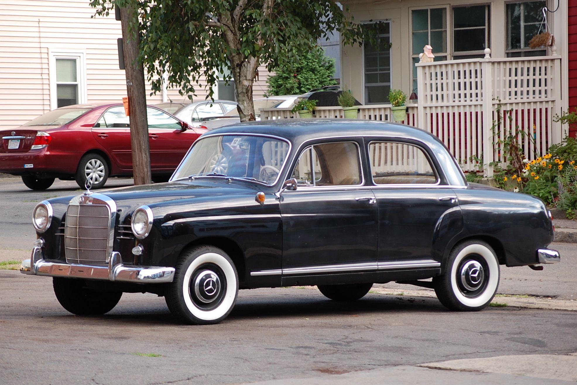 1958 mercedes 190d