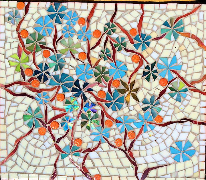 Mosaic flowers pots - YouTube