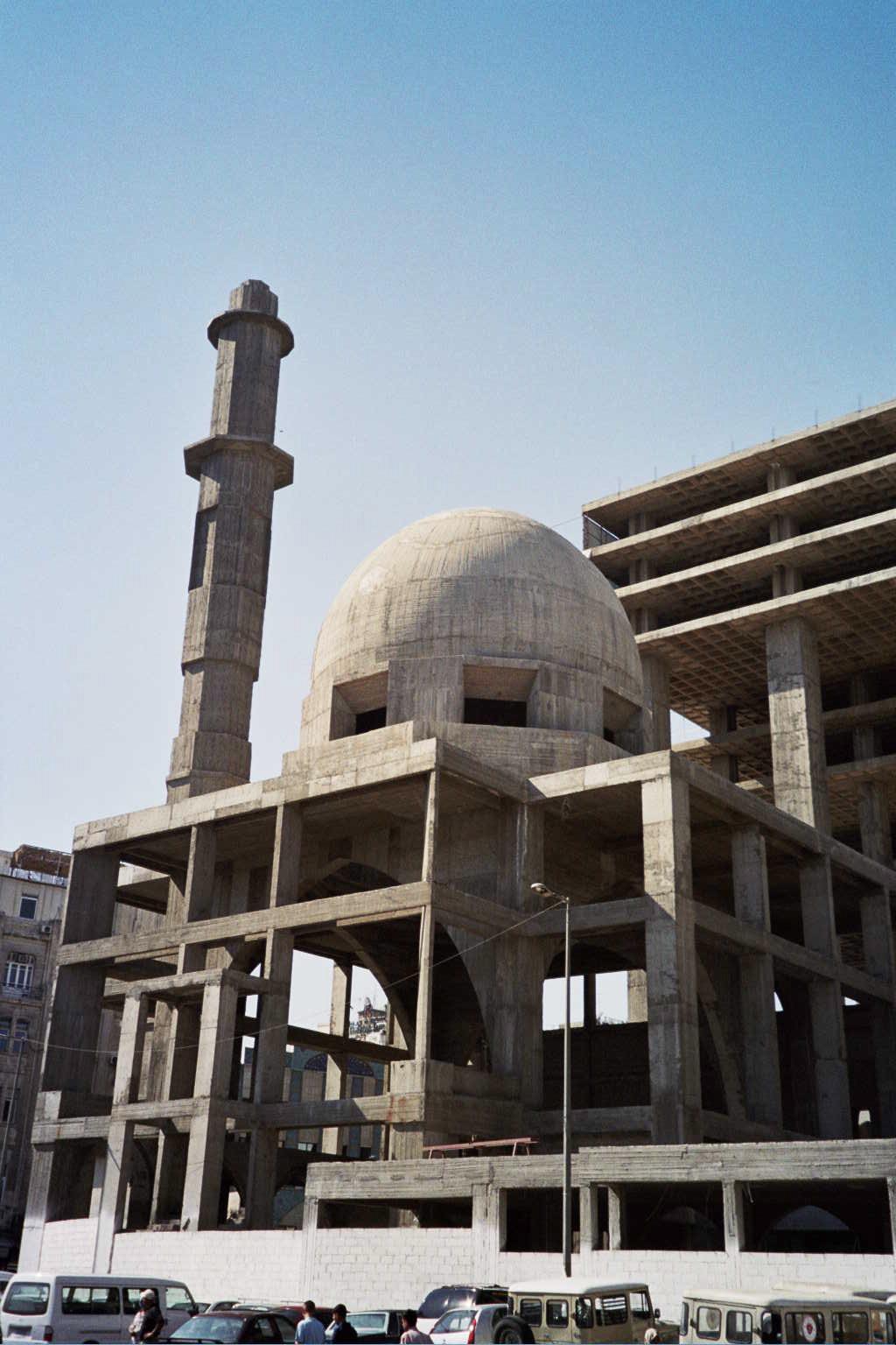 Mosque Construction Company File:mosque Under Construction