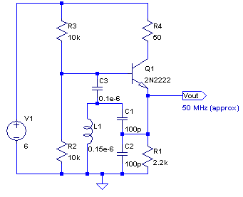 Npn Colpitts Oscillator Base Coil Png