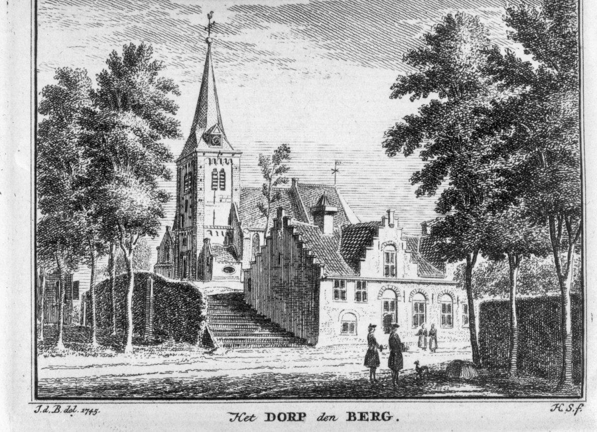 Nederhorst Den Berg Nederland.File Naar Een Gravure In Het Verheerlijkt Nederland