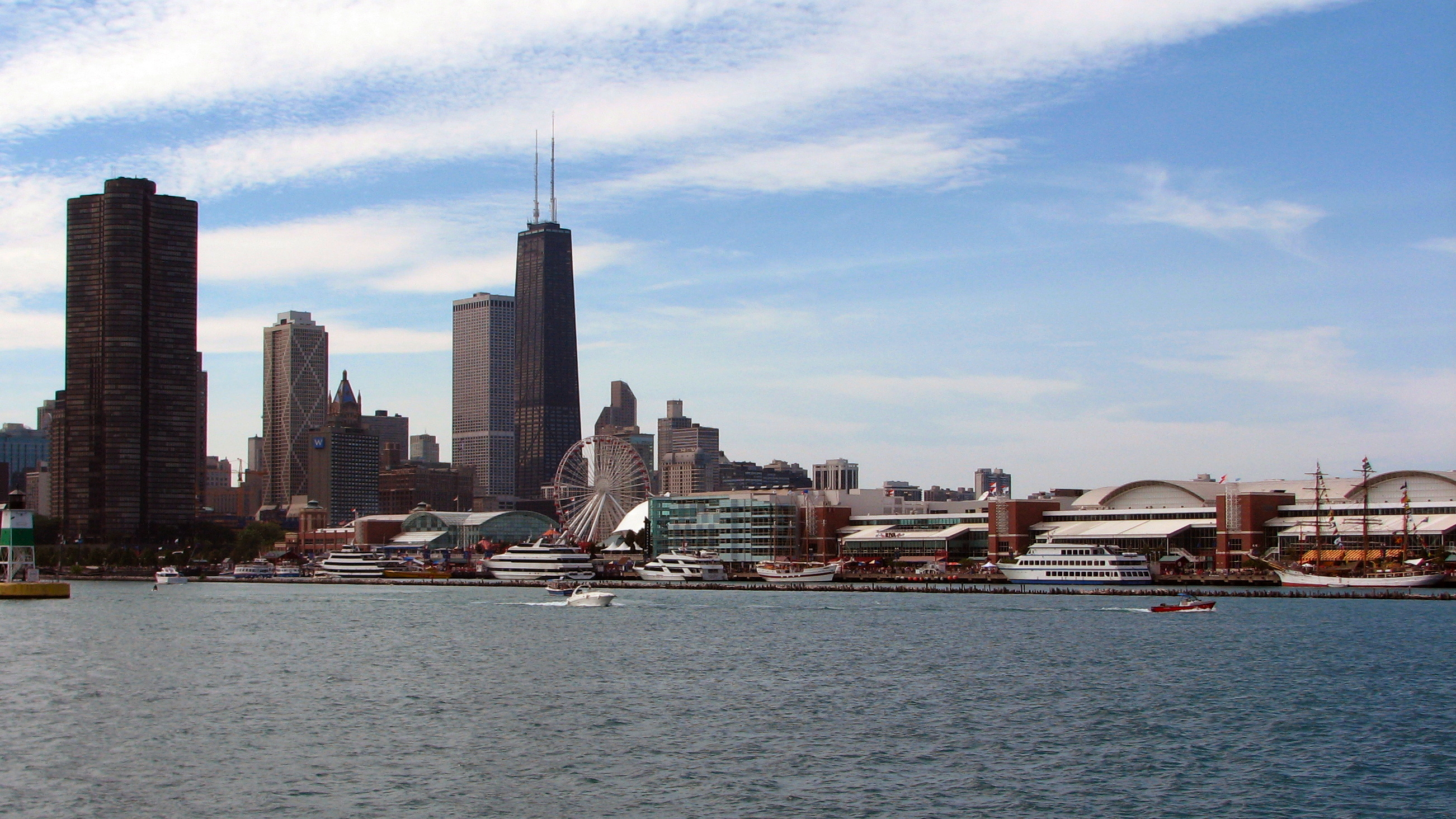 Navy Pier and Chicago from Lake Michigan.jpg