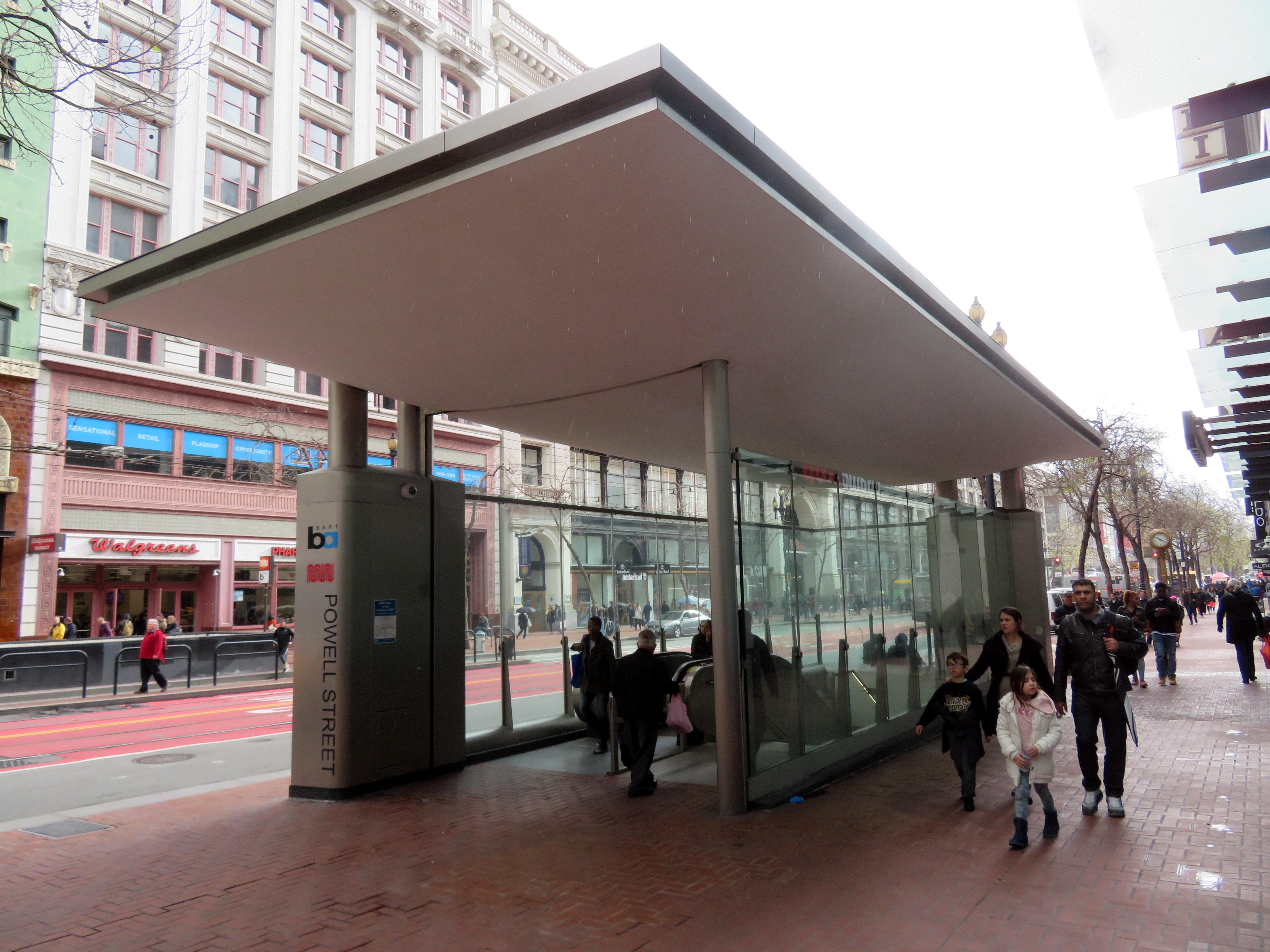 FileNew canopy at Powell Street station March 2019.JPG & File:New canopy at Powell Street station March 2019.JPG - Wikimedia ...
