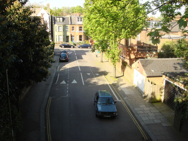 Northwood Road from Parkland Walk - geograph.org.uk - 1590494