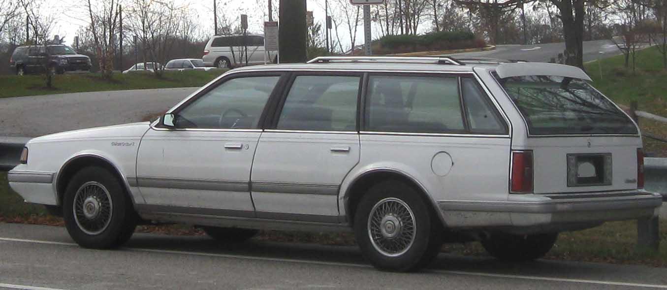 File:Oldsmobile Cutlass Cruiser rear.jpg - Wikimedia Commons