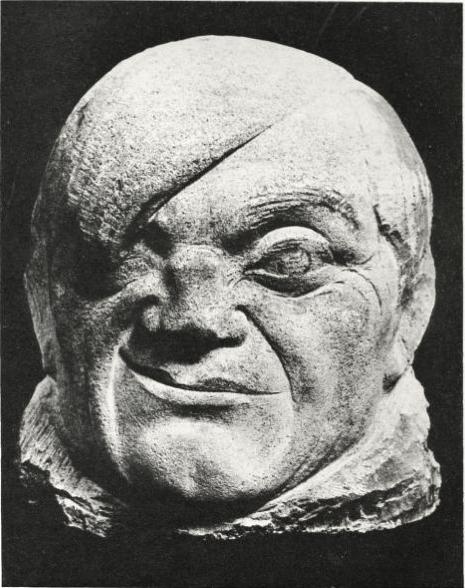File Pablo Gargallo  1913  Masque de Picasso  Portrait of Picasso    Pablo Gargallo Sculpture