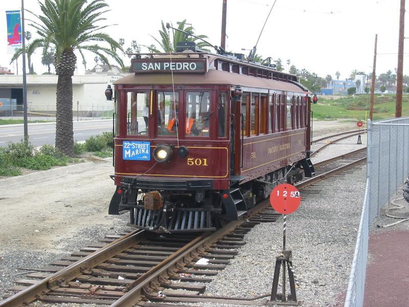 File:Pacific Electric Replica 501 in San Pedro.jpg