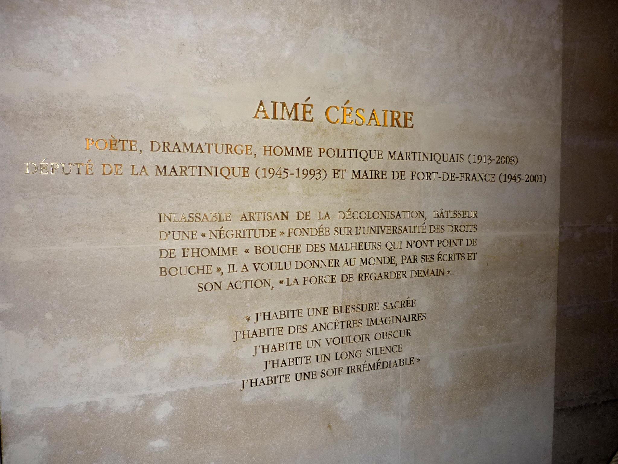 Photo Aimé Césaire via Opendata BNF