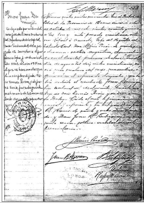 Archivo:Partida de Nacimiento de Perón.png - Wikipedia, la ...