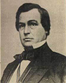 Former Kansas Territorial Governor James W. Denver visited his namesake city in 1875 and in 1882. Pd james w denver.jpg