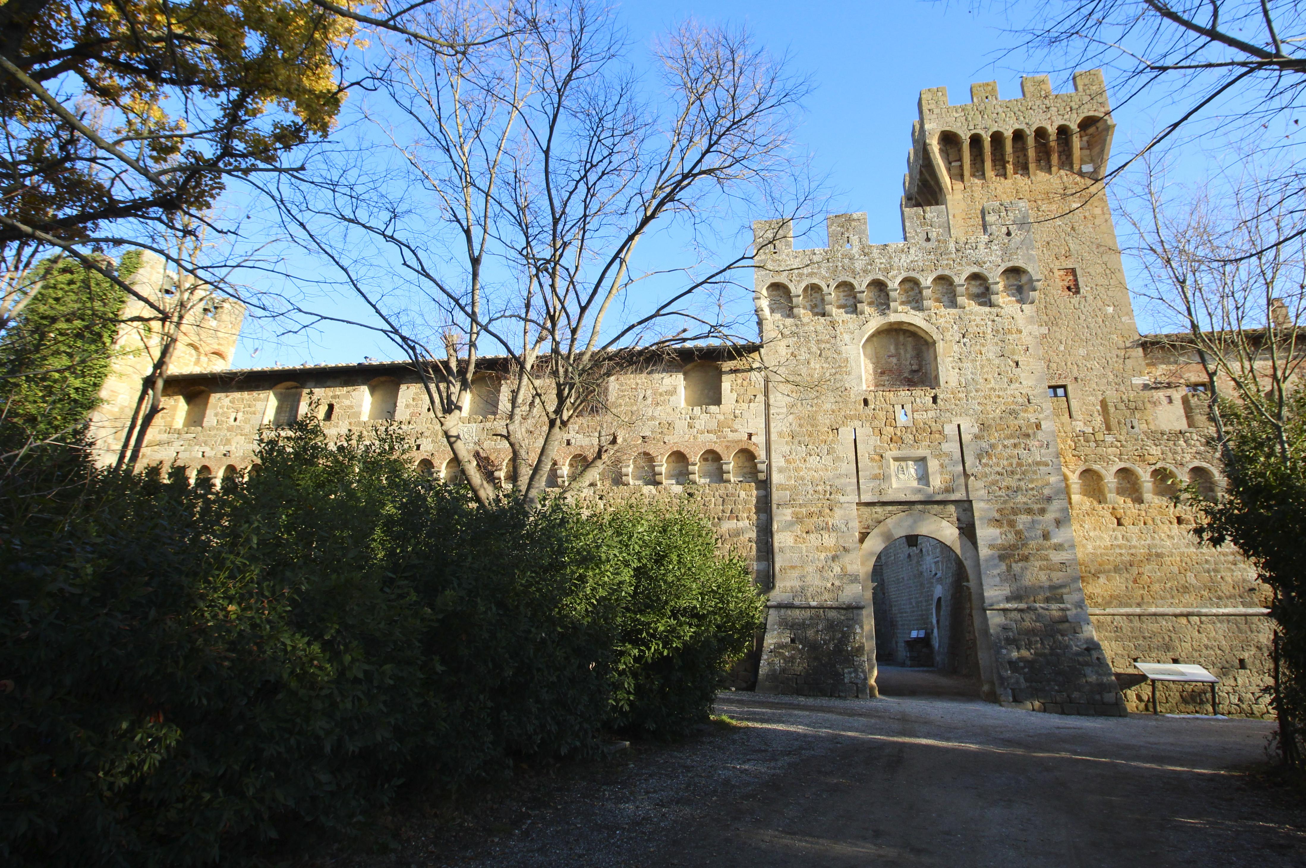 Pienza, Spedaletto Castle