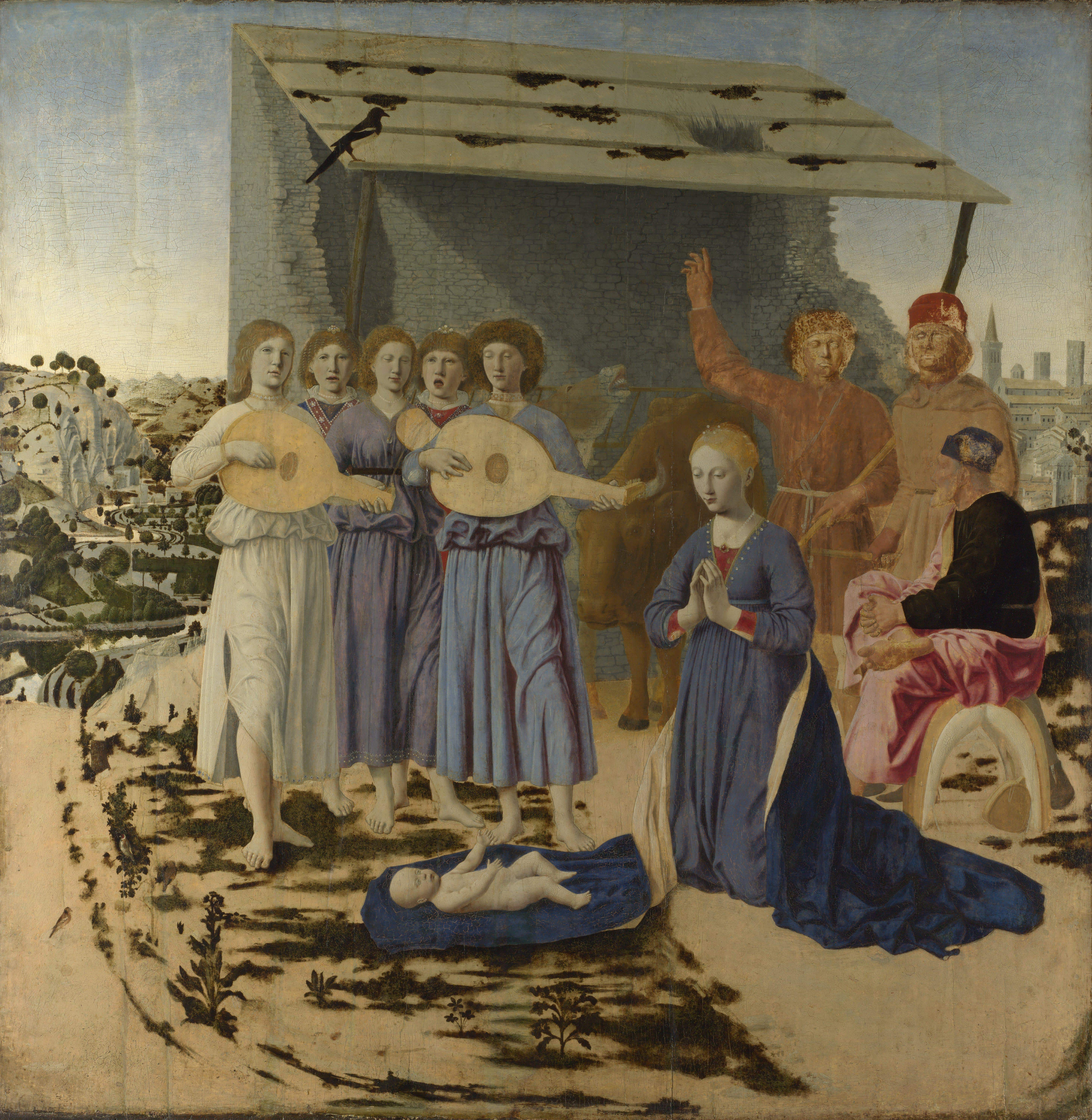 The Annunciation c1460  Piero della Francesca  WikiArtorg