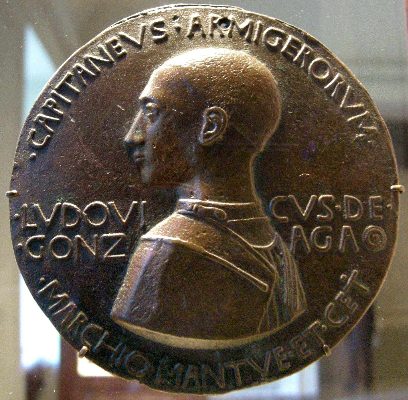 File:Pisanello, Medaglia di Ludovico III Gonzaga, 1447.JPG