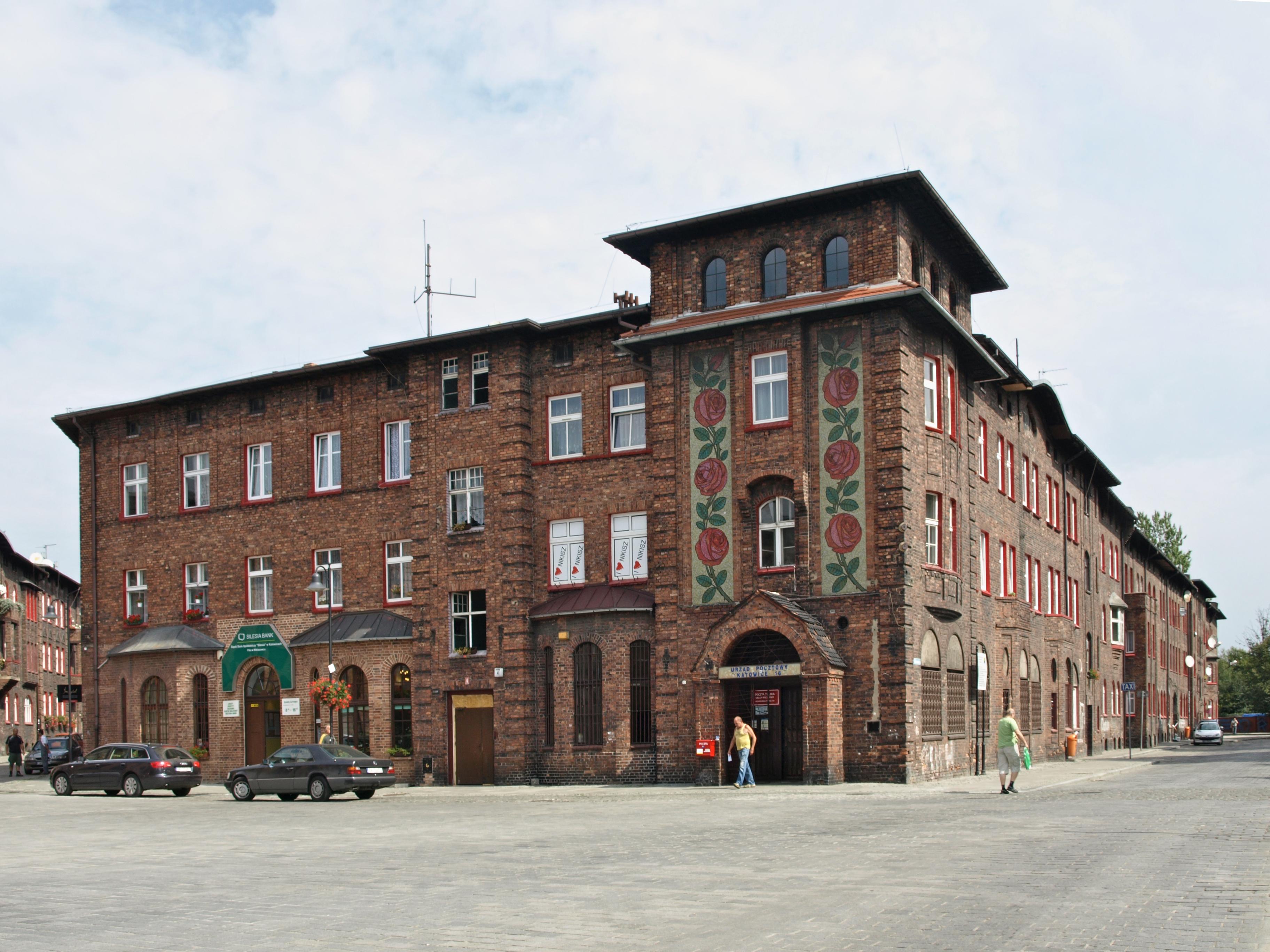 Poczta Nikiszowiec Plac Wyzwolenia Katowice