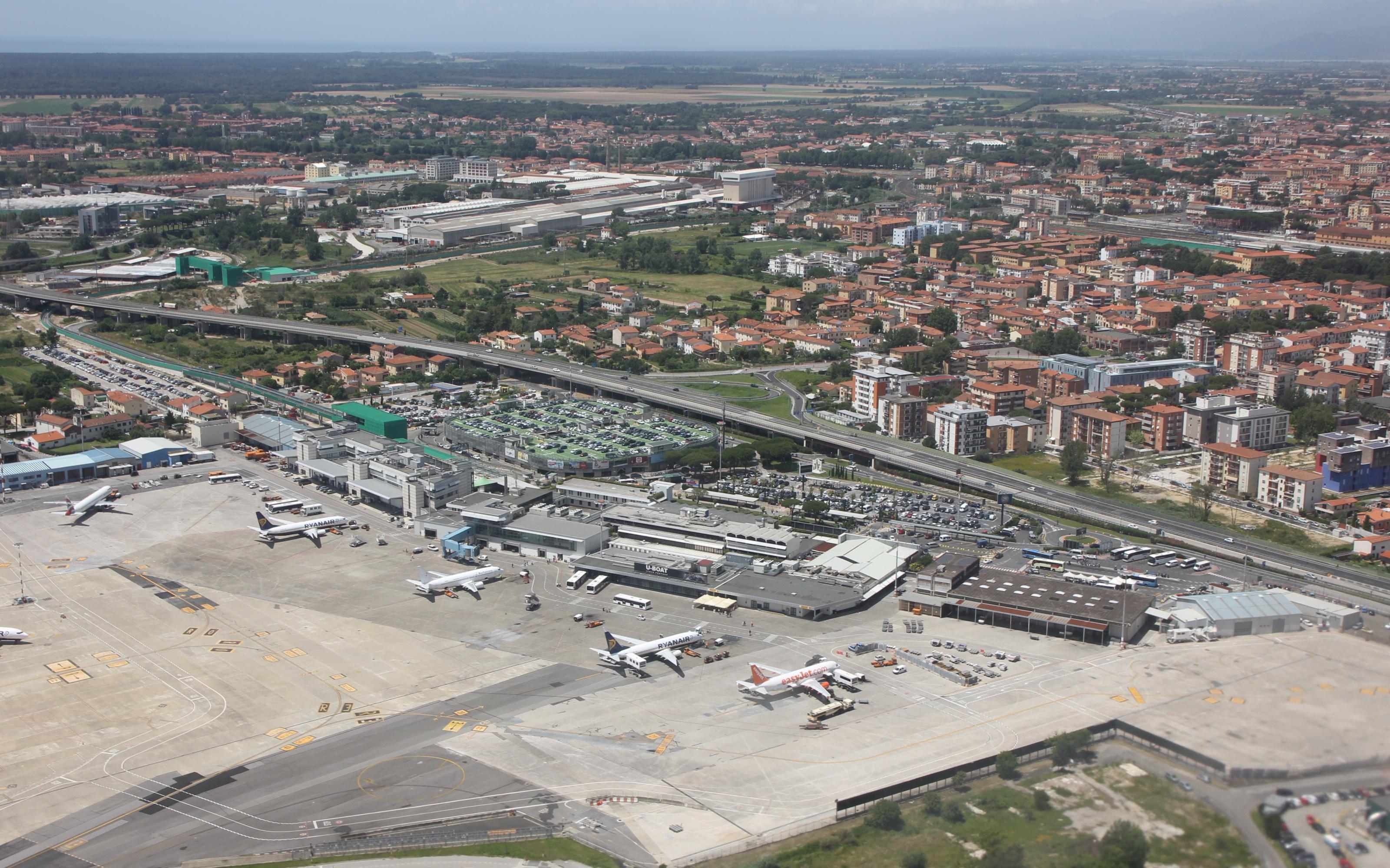 Aeroporto Pisa : Aeroporto di pisa san giusto wikipedia