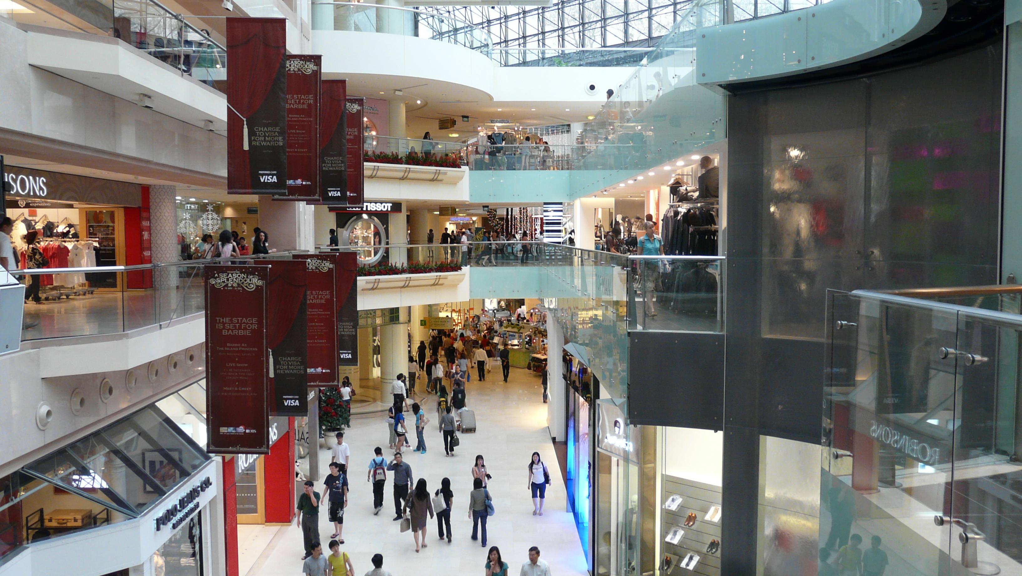 File:Raffles City Shopping Centre, Singapore - 20071226 ...