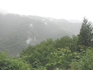יום גשום בהרי הסמוקיז