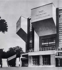 Rusakov Workers' Club in Moscow by Konstantin Melnikov, 1927–28