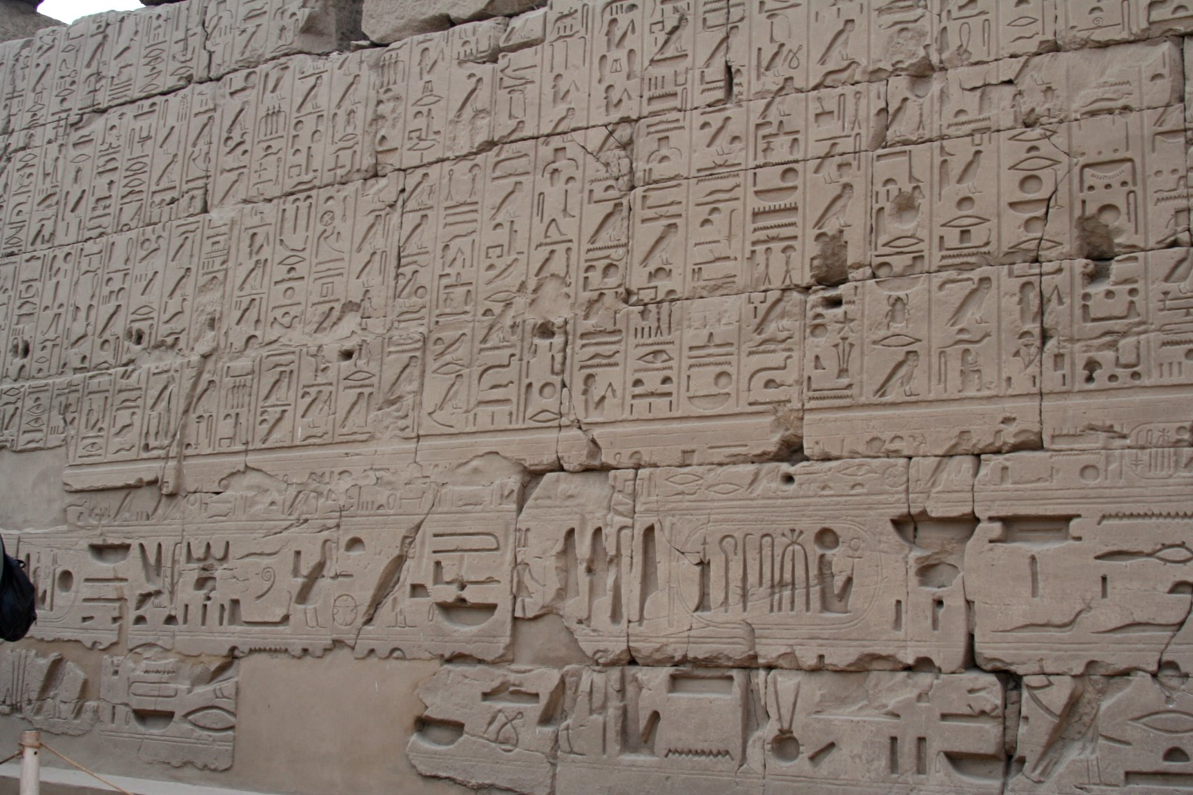 resourcesforhistoryteachers  heiroglyphs at the temple of karnak luxor