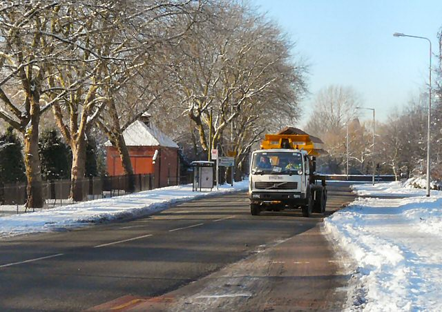 Almost all rock salt mined in the UK is used for road de-icing.