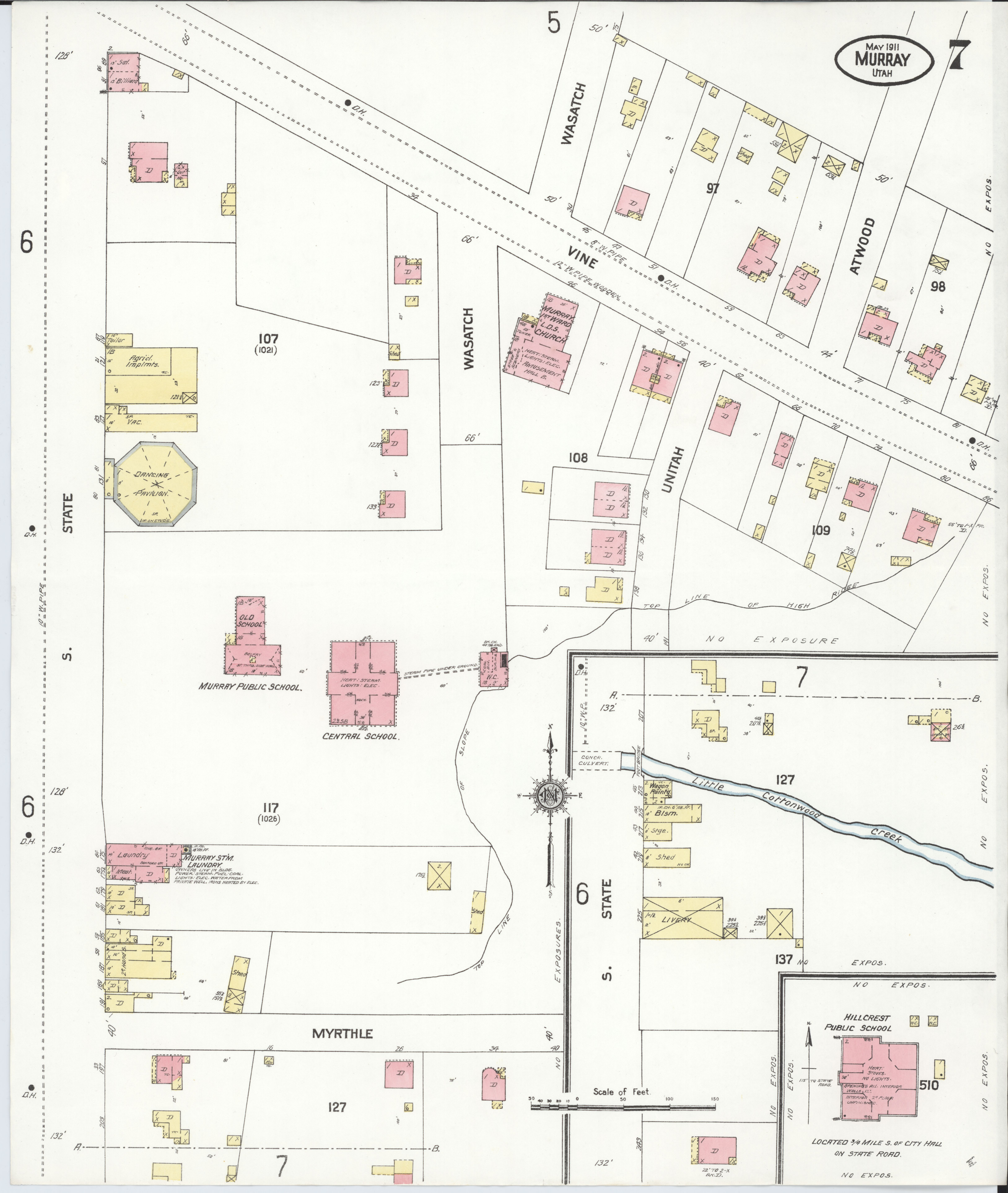 File Sanborn Fire Insurance Map From Murray Salt Lake County Utah