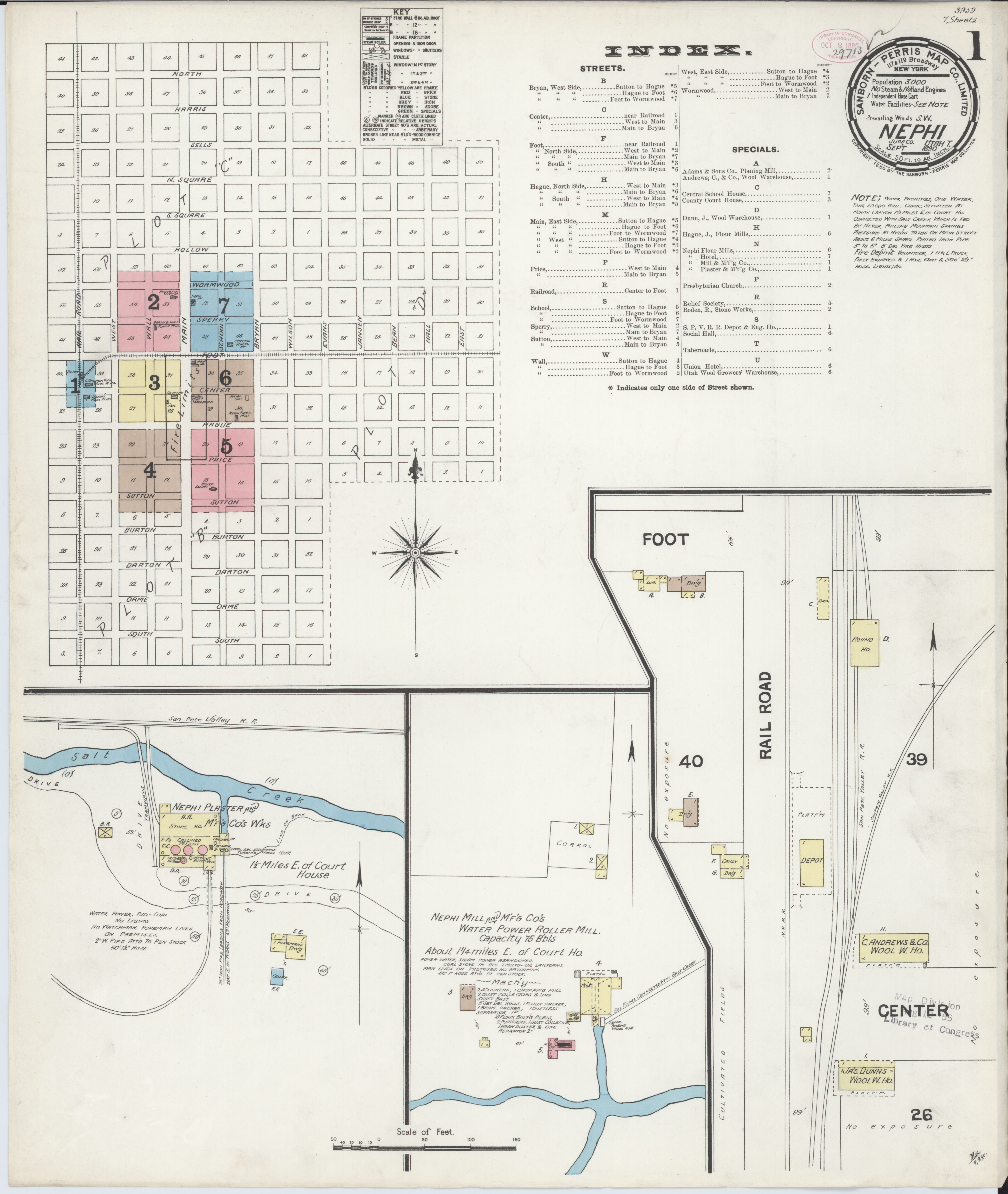 File:Sanborn Fire Insurance Map From Nephi, Juab County