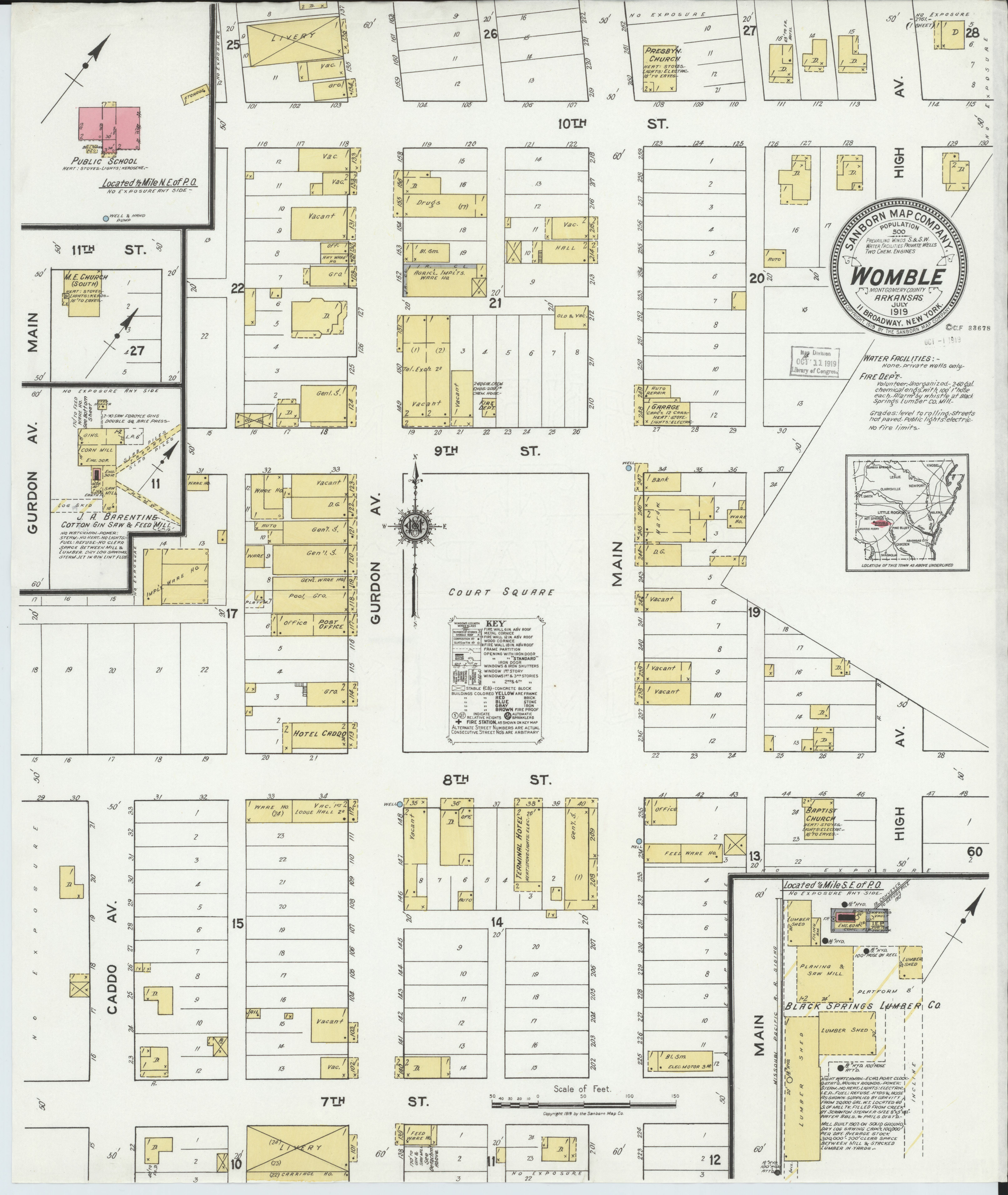 File:Sanborn Fire Insurance Map from Womble, Montgomery ... on map of damascus arkansas, map of washington arkansas, map of wineries in arkansas, map of arkadelphia arkansas, map of arkansas and missouri, map of malvern arkansas, map of all cities in arkansas, map of buffalo river arkansas, map of texarkana arkansas, map of texas and arkansas, map of montgomery pa, towns in polk county arkansas, map of washington county il, maps of creeks in arkansas, map of rogers arkansas, map of east end arkansas, map of mount ida arkansas, map of perryville arkansas, map of oak grove arkansas, detailed map of arkansas,