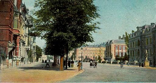 Sarphatistraat en Amsterdamo ĉirkaŭ 1903