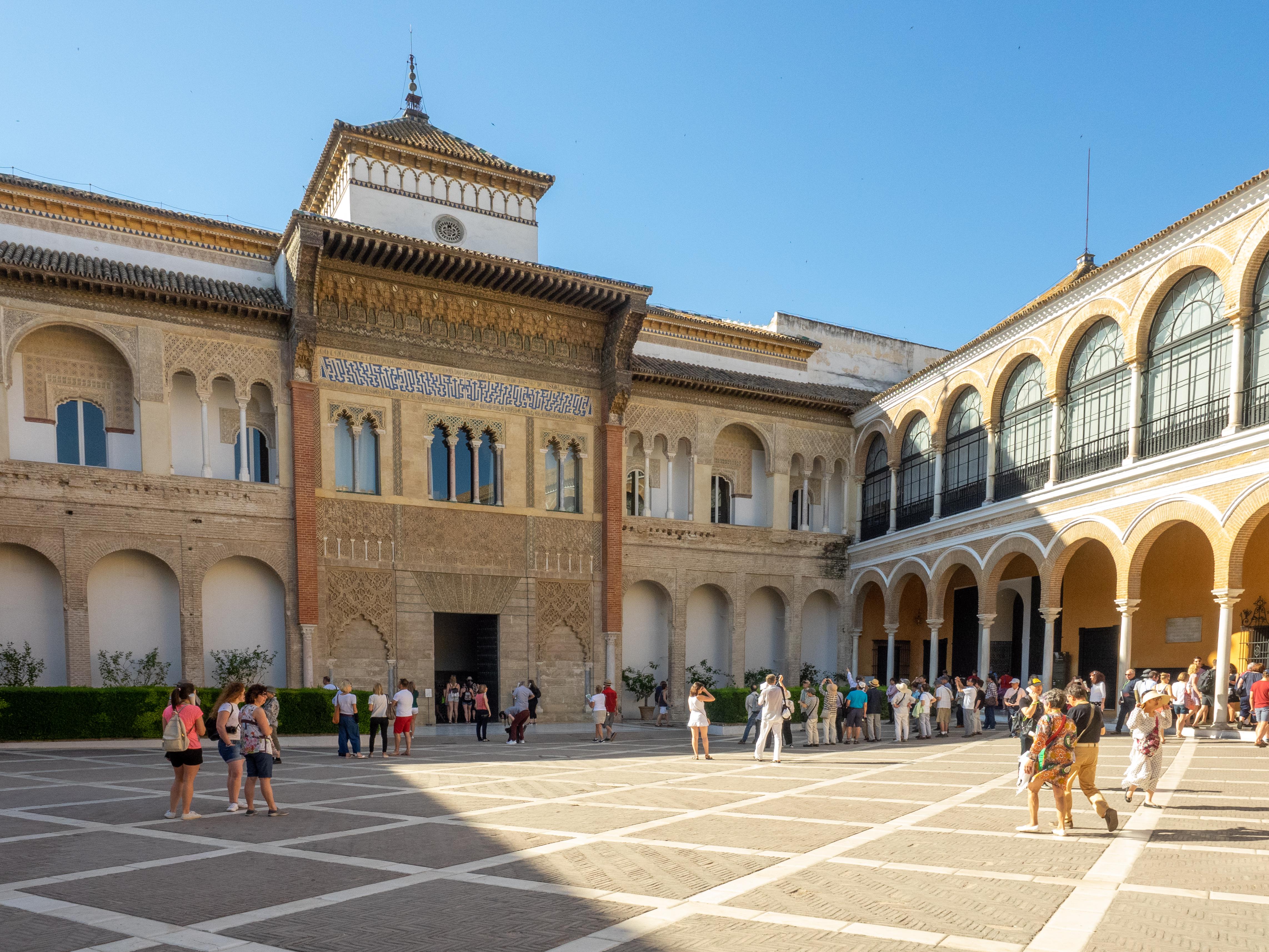 Alcazar Of Seville Wikipedia