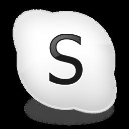 File:Skype bw.png