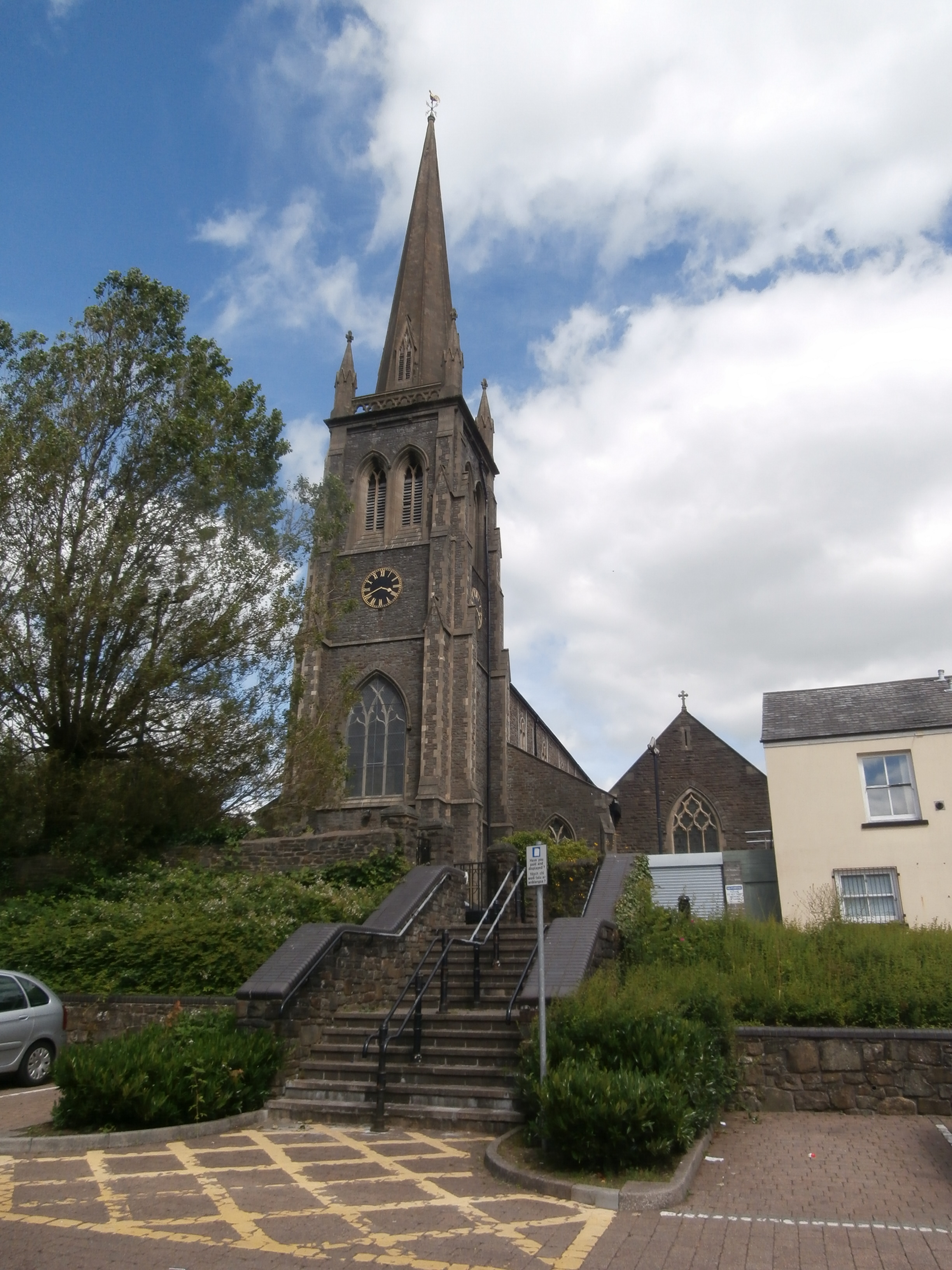 St Elvan S Church Aberdare Wikipedia