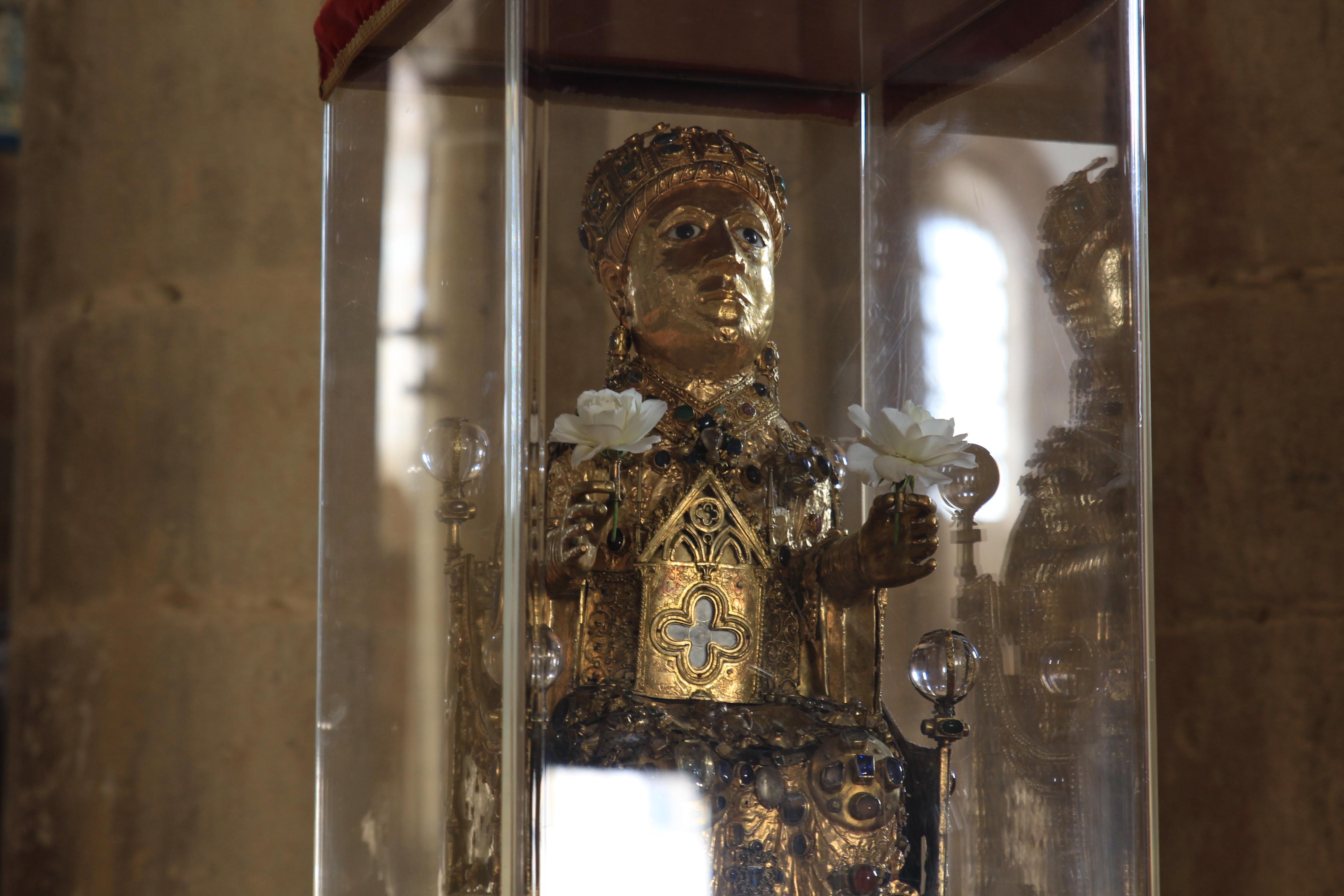 Fichier Statue Reliquaire De Sainte Foy De Conques Jpg Wikipedia