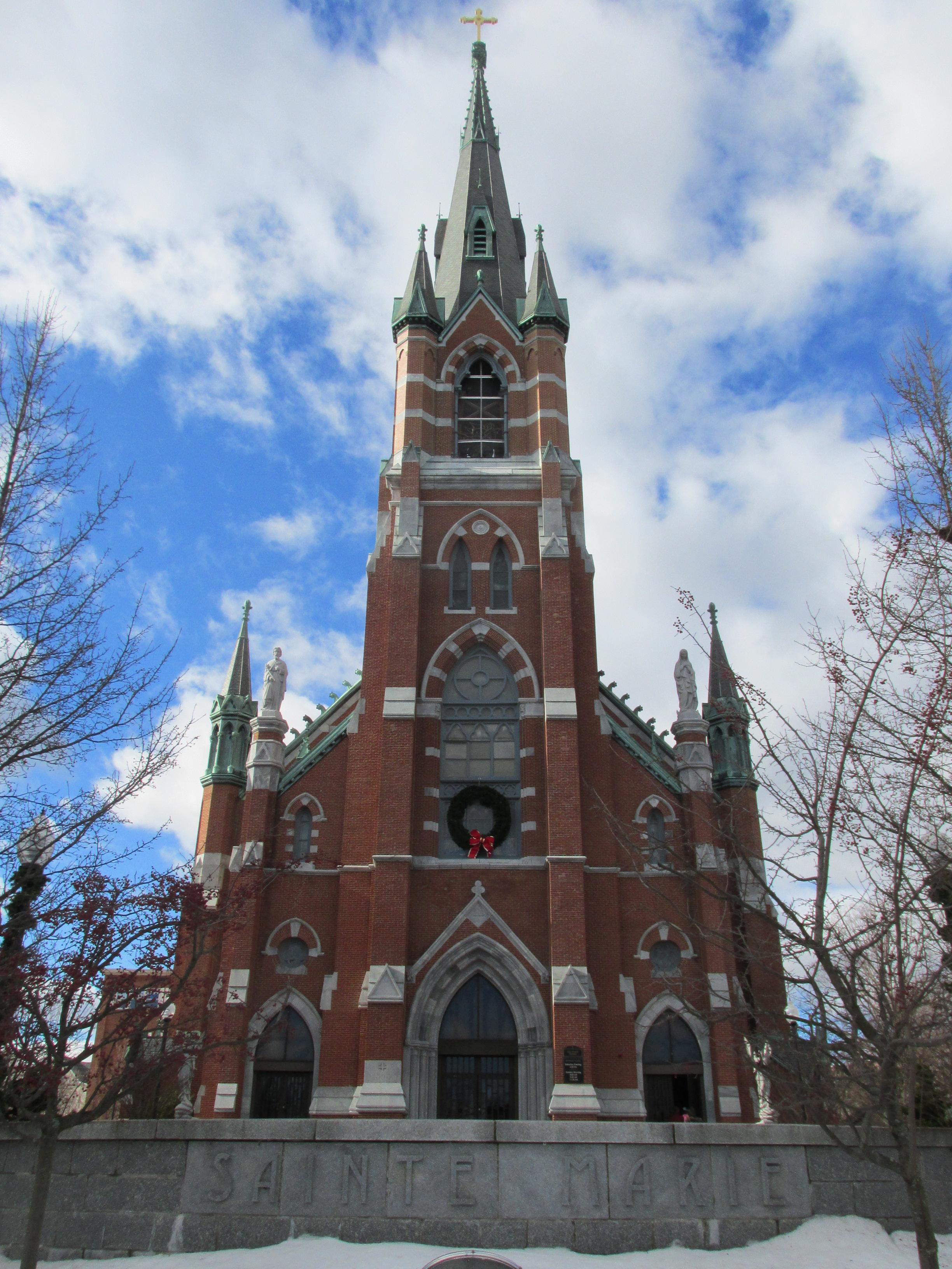 Catholic Masses In Nashua Nh Christmas 2021 Ste Marie Church Manchester New Hampshire Wikipedia