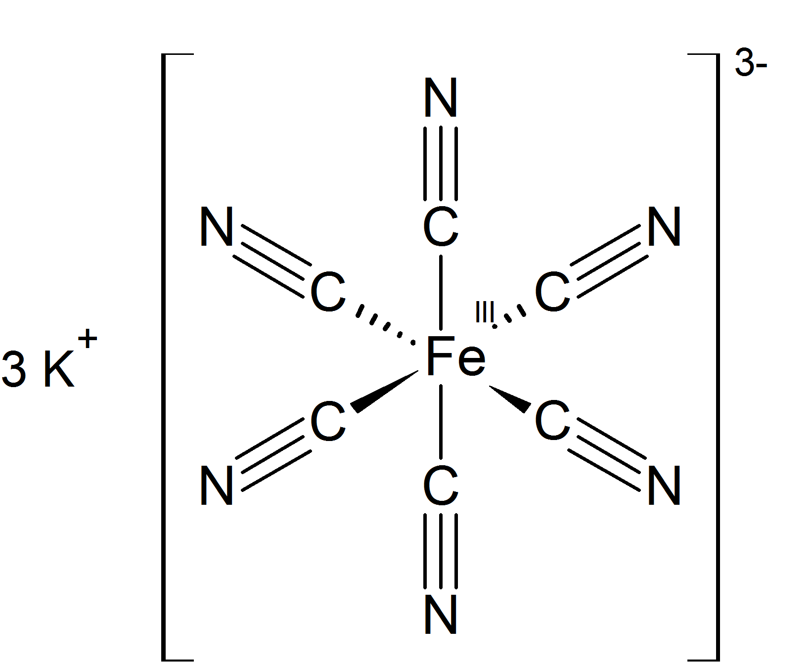 Potassium ferricyanide - Wikipedia