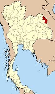ナコーンパノム県の位置