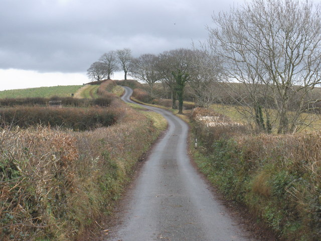 The long and winding road - geograph.org.uk - 1124953