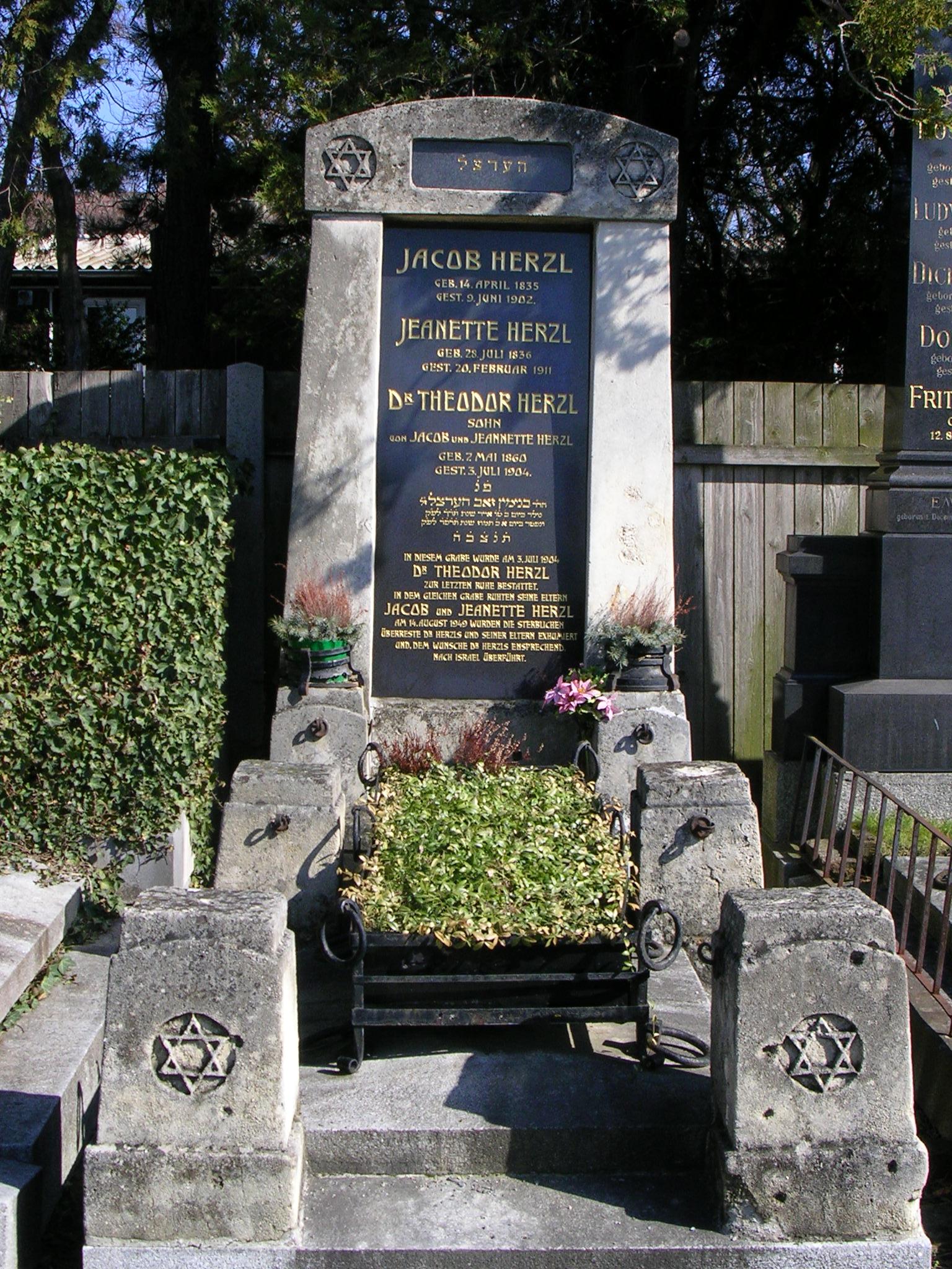 File Theodor Herzl Grab