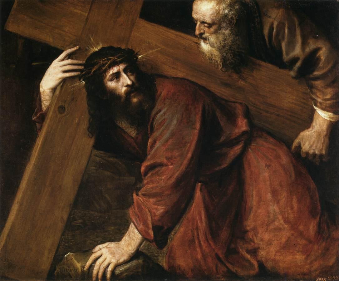 Resultado de imagem para Jesus a caminho da Cruz