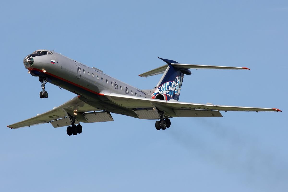 Resultado de imagen para Tupolev Tu-134 aeroflot takeoff