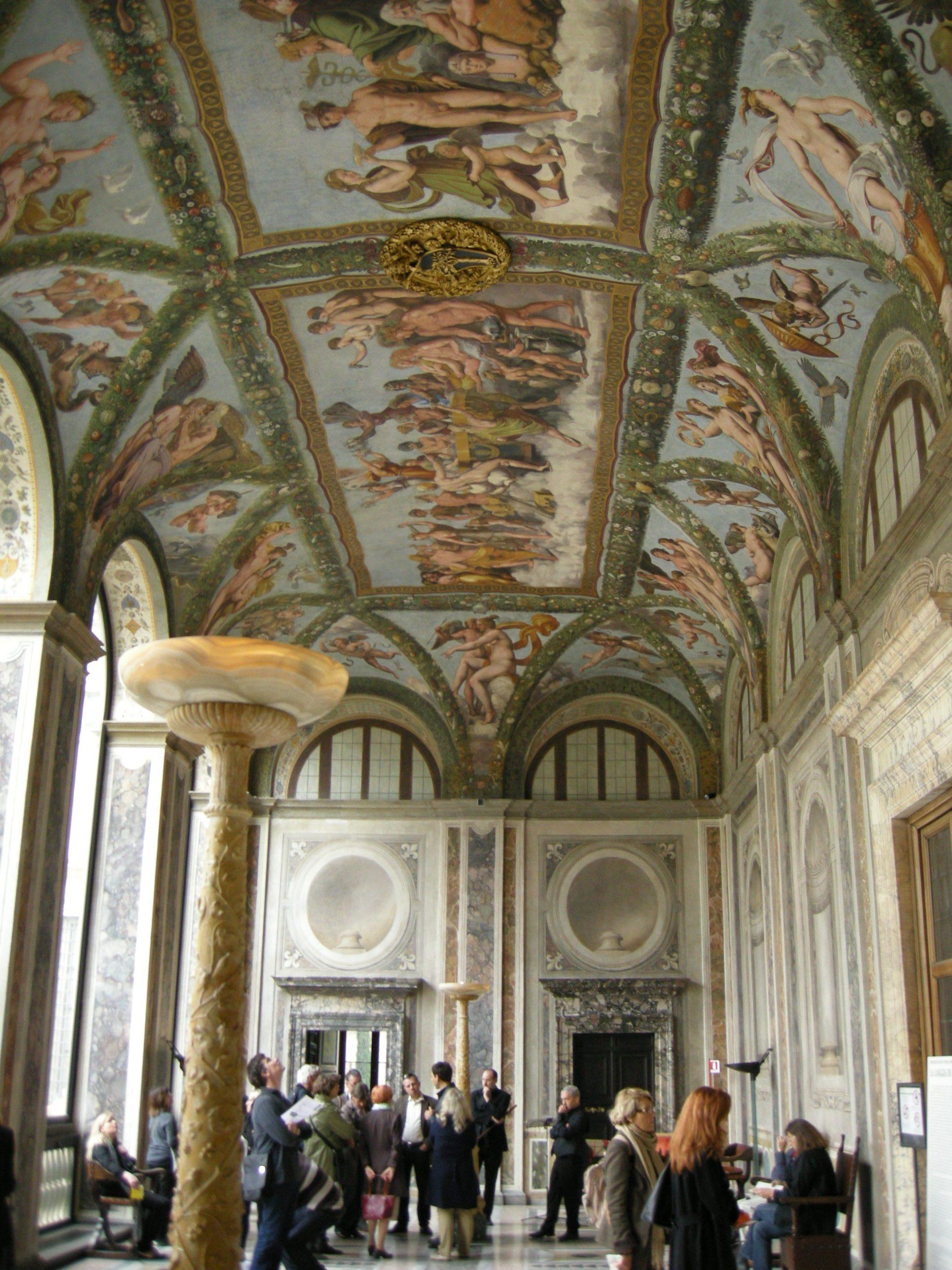 Decorazione Villa Romana Sotto Basilica Di San Sebastiano Sull Appia