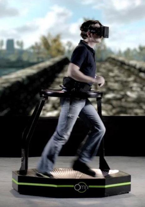 Virtuix Omni and Oculus Rift