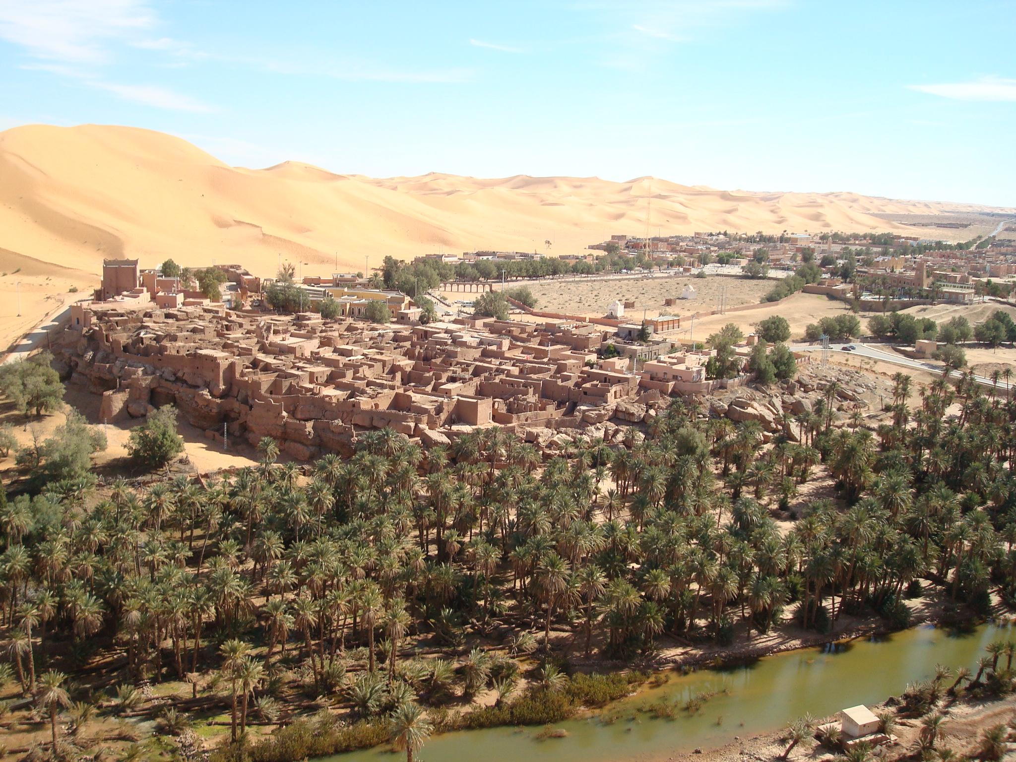 Le patrimoine Ksourien dans le Bas-Sahara algérien  dans Architecture & Urbanisme Vue_de_Taghit